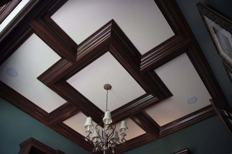 Coffered Ceiling Cut Above Wood Designs - Coffered ceiling ideas